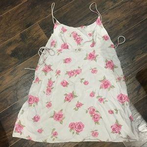 Motel Blush Pink Floral Dress